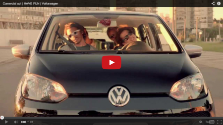 Volkswagen promove up! no Brasil com Cyndi Lauper e Star Wars - Foto: Youtube